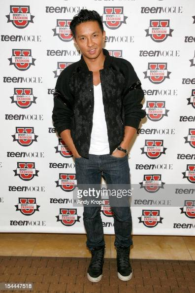 Fashion designer Prabal Gurung attends the 7th Annual Teen Vogue Fashion University at the Conde Nast building on October 20 2012 in New York City