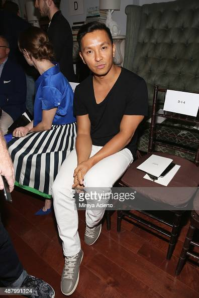 Fashion designer Prabal Gurung attends the Monse fashion show during Spring 2016 MADE Fashion Week at Norwood Club on September 12 2015 in New York...