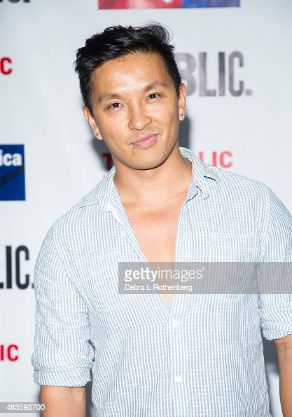 Fashion designer Prabal Gurung attends the Public Theater's opening night of 'Cymbeline' at the Delacorte Theater on August 10 2015 in New York City
