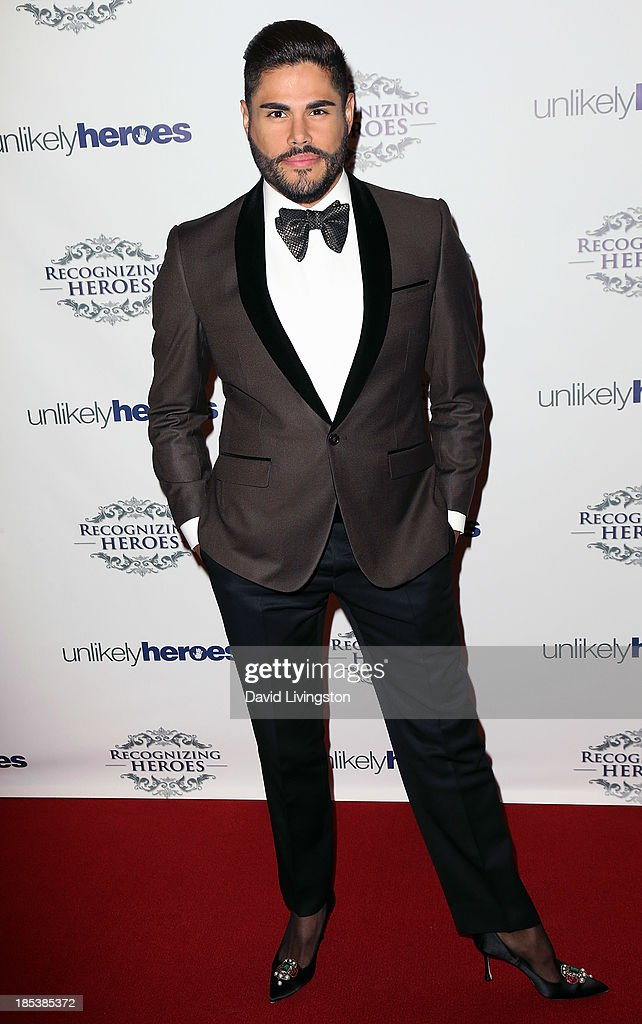 Fashion designer Prince Julio Cesar attends the Unlikely Heroes' Recognizing Heroes Awards Dinner & Gala at The Living Room at The W Hotel on October 19, 2013 in Los Angeles, California.