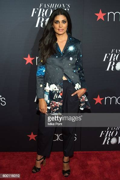 Fashion designer Rachel Roy attends Macy's Fashion's Front Row during September 2016 New York Fashion Week at The Theater at Madison Square Garden on...
