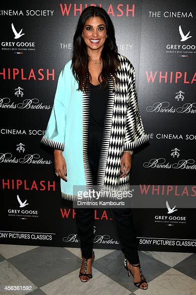 Fashion designer Rachel Roy attends Sony Pictures Classics' screening of 'Whiplash' hosted by The Cinema Society and Brooks Brothers at the iPaley...