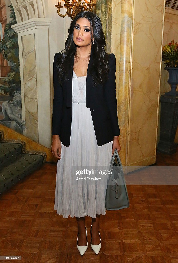 Fashion designer Rachel Roy attends the 2013 WWD Apparel And Retail CEO Summit Dinner at The Pierre Hotel on October 28, 2013 in New York City.