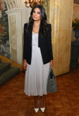 Fashion designer Rachel Roy attends the 2013 WWD Apparel And Retail CEO Summit Dinner at The Pierre Hotel on October 28 2013 in New York City