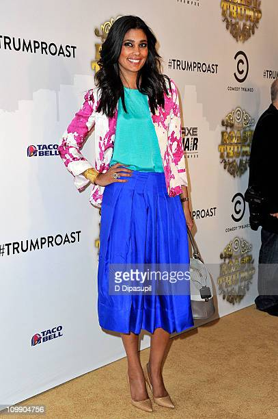 Fashion designer Rachel Roy attends the COMEDY CENTRAL Roast of Donald Trump at the Hammerstein Ballroom on March 9 2011 in New York City