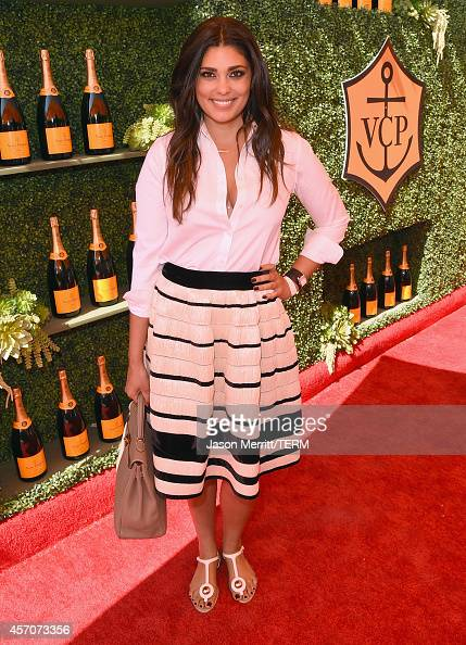 Fashion designer Rachel Roy attends the FifthAnnual Veuve Clicquot Polo Classic at Will Rogers State Historic Park on October 11 2014 in Pacific...