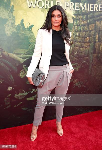 Fashion designer Rachel Roy attends the premiere of Disney's 'The Jungle Book' at the El Capitan Theatre on April 4 2016 in Hollywood California