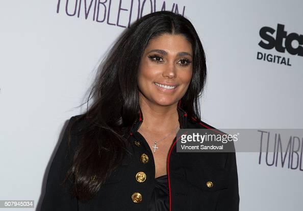 Fashion designer Rachel Roy attends the premiere of Starz Digital Media's 'Tumbledown' at Aero Theatre on February 1 2016 in Santa Monica California