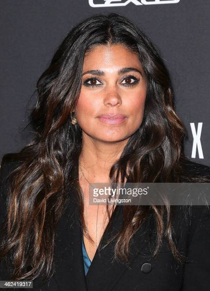 Fashion designer Rachel Roy attends The Weinstein Company's 2014 Golden Globe Awards After Party at The Beverly Hilton hotel on January 12 2014 in...