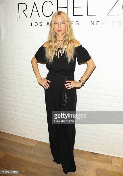 Fashion Designer Rachel Zoe attends the popup shop opening at The Grove on February 27 2016 in Los Angeles California