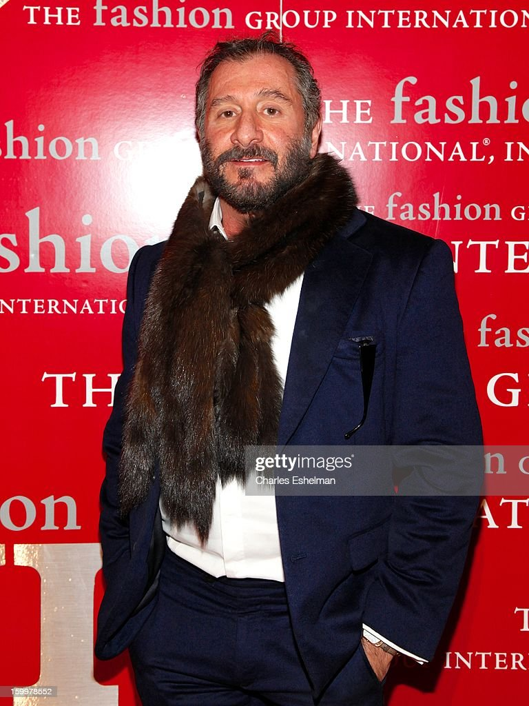 Fashion designer <a gi-track='captionPersonalityLinkClicked' href=/galleries/search?phrase=Ralph+Rucci+-+Fashion+Designer&family=editorial&specificpeople=12460286 ng-click='$event.stopPropagation()'>Ralph Rucci</a> attends the 16th annual Fashion Group International Rising Star awards at Cipriani 42nd Street on January 24, 2013 in New York City.
