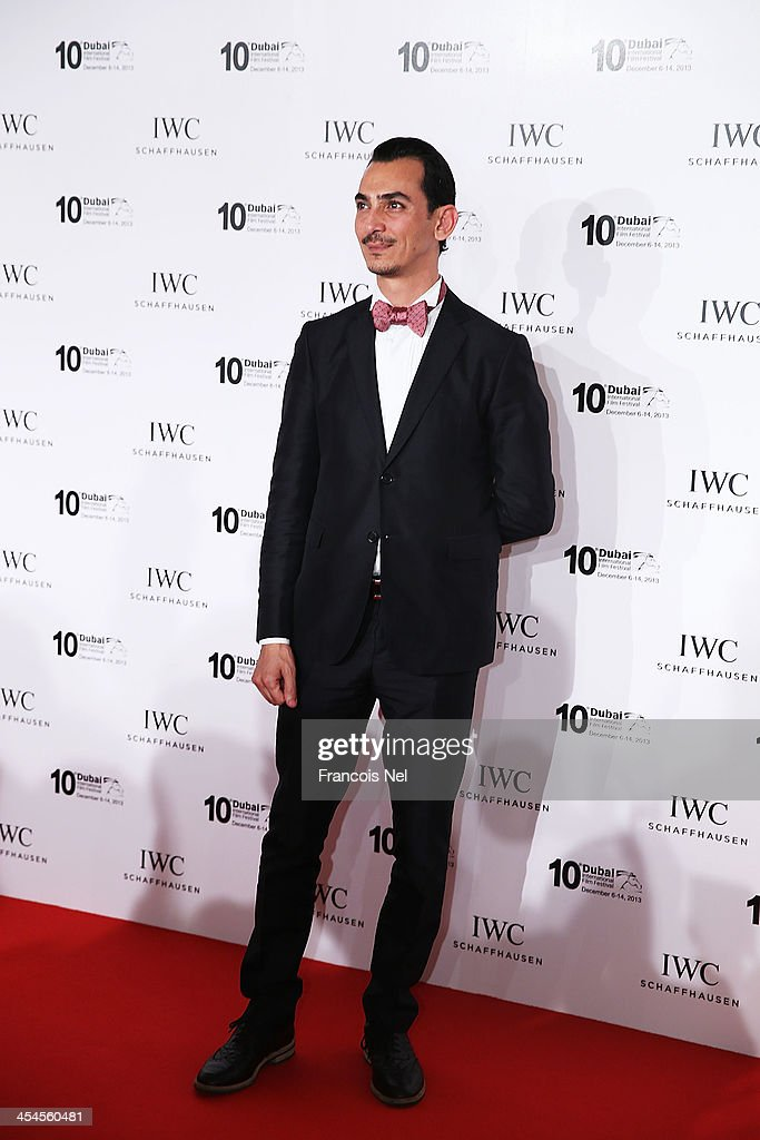 Fashion designer Rami al-Ali attends the IWC Schaffhausen For The Love Of Cinema IWC Filmmakers Award 2013 at One And Only Royal Mirage on December 7, 2013 in Dubai, United Arab Emirates.