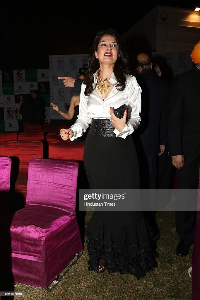 Ritu Beri Couture Fashion Show At Residence Of Spanish Ambassador Getty Images
