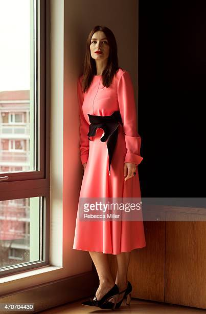 Fashion designer Roksanda Ilincic is photographed for The Times on January 29 2015 in London England