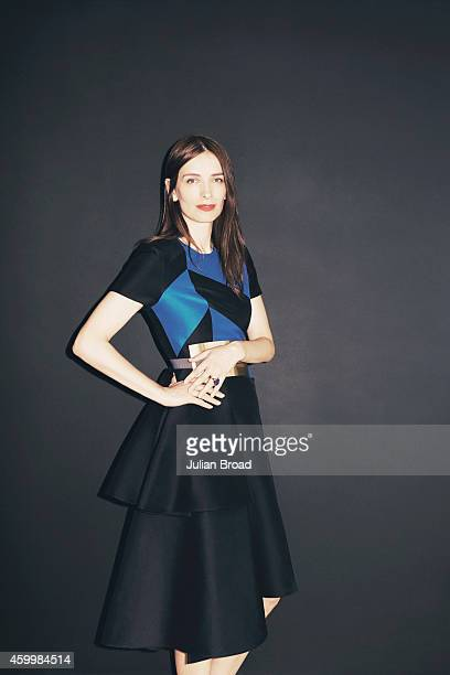 Fashion designer Roksanda Ilincic is photographed for Vogue on July 17 2014 in London England