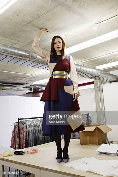 Fashion designer Roksanda Ilincic is photographed on November 28 2014 in London England