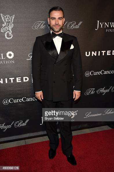 Fashion Designer Rubin Singer attends Angel Ball 2015 hosted by Gabrielle's Angel Foundation at Cipriani Wall Street on October 19 2015 in New York...