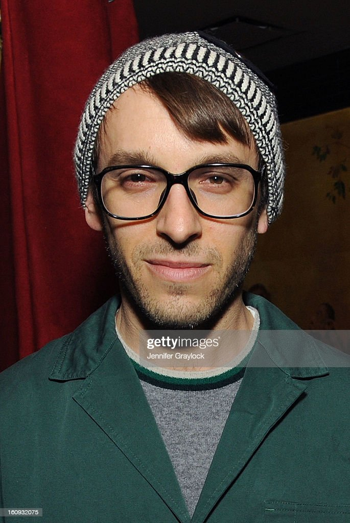 Fashion designer Scott Sternberg attends the Band Of Outsiders Fashion Week Mens Collection After Party held at the Monkey Bar on February 7, 2013 in New York City.