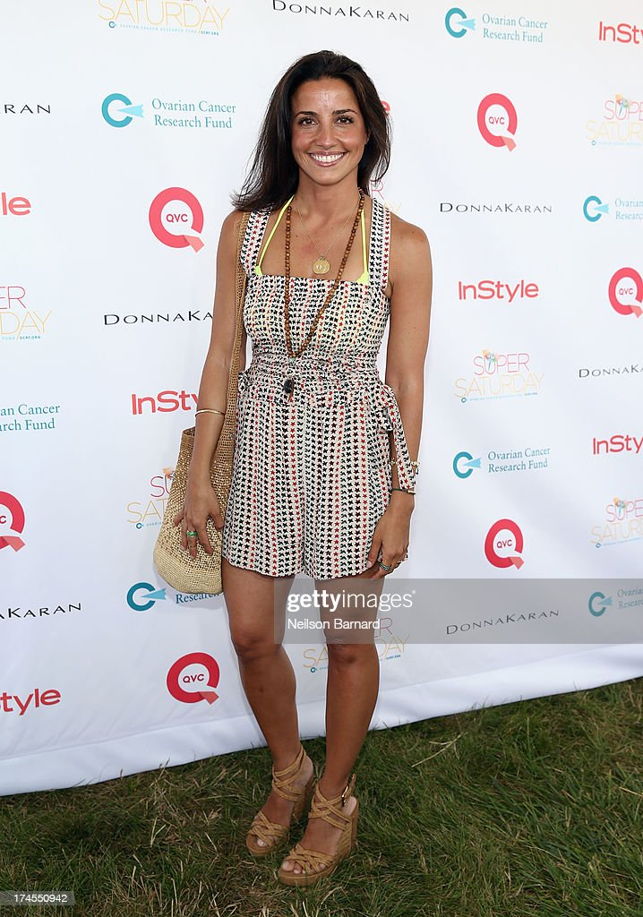 Fashion Designer Shoshanna Gruss attends QVC Presents Super Saturday LIVE! at Nova's Ark Project on July 27, 2013 in Water Mill, New York.