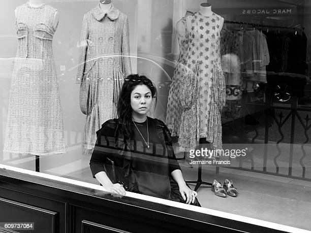 Fashion designer Simone Rocha is photographed on August 7 2016 in London England
