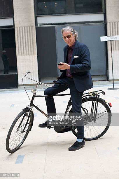Fashion Designer Sir Paul Smith on day 3 of Paris Collections Men on JUNE 27 2014 in Paris France