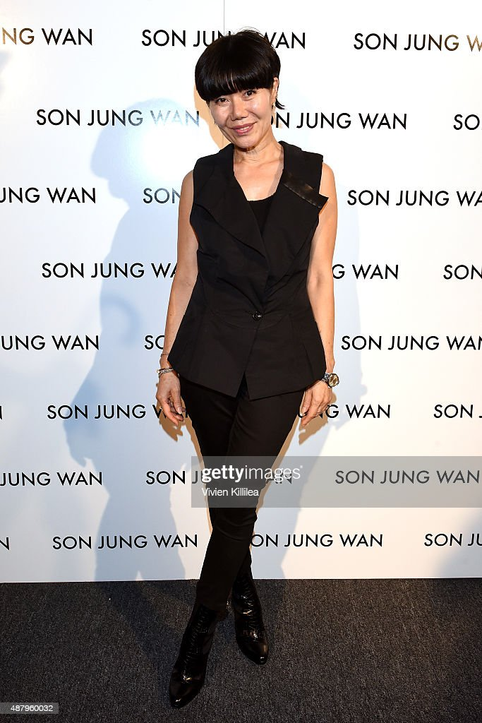 Son Jung Wan - Backstage - Spring 2016 New York Fashion Week: The Shows