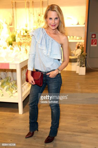 Fashion designer Sonja Kiefer during the DEPOT easter shopping event on March 27 2017 in Munich Germany