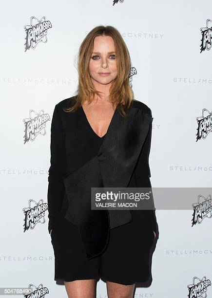 Fashion designer Stella McCartney at the Presentation of the new Stella McCartney Autumn 2016 Collection with live surprise musical performances at...