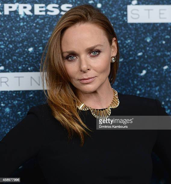 Fashion designer Stella McCartney attends 2014 Women's Leadership Award Honoring Stella McCartney at Alice Tully Hall at Lincoln Center on November...
