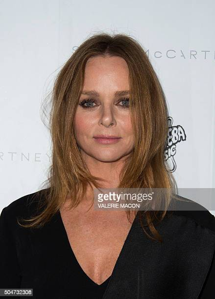 Fashion designer Stella McCartney attends the Presentation of the new Stella McCartney Autumn 2016 Collection with live surprise musical performances...