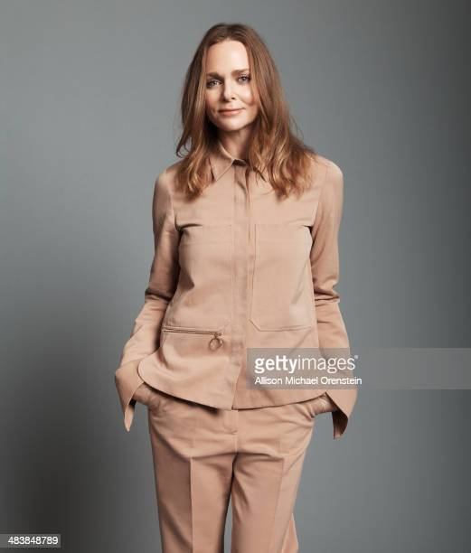 Fashion designer Stella McCartney is photographed for The Observer Newspaper on January 13 2014 in New York City ON EMBARGO UNTIL MAY 7 2014...