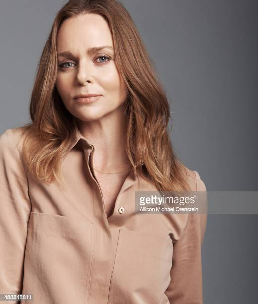 Fashion designer Stella McCartney is photographed for The Observer Newspaper on January 13 2014 in New York City ON EMBARGO UNTIL MAY 7 2014