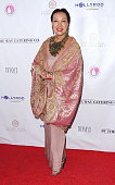 Fashion designer Sue Wong arrives at 'Breakfast at Tiffany's' benefiting the HollyRod Foundation for Autism and Parkinson's Disease at Tiffany's On...