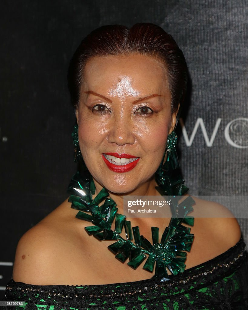 Fashion Designer Sue Wong attends her holiday party on December 20, 2013 in Los Angeles, California.