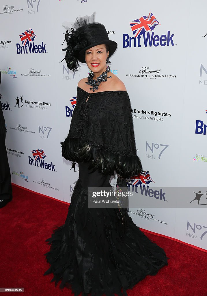 Fashion Designer Sue Wong attends the Britweek celebration of 'Downton Abbey' at Fairmont Miramar Hotel on May 3, 2013 in Santa Monica, California.