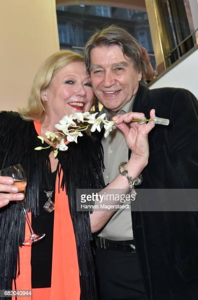 Fashion designer Susanne Wiebe and Roger Fritz during 'Maximilian Seitz EinwicklungenImpressionismusFest im Orient' Exhibition Opening at Susanne...
