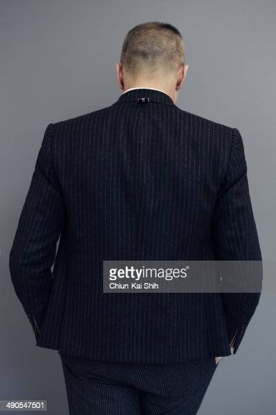 Fashion designer Thom Browne is photographed for Jessica Magazine on February 20 2014 in New York City