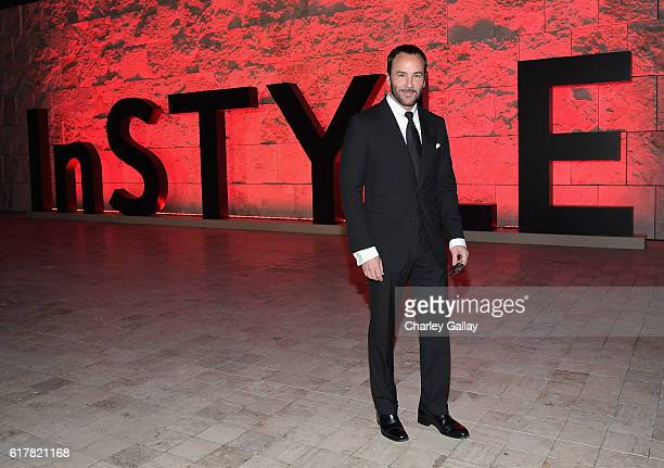 Fashion designer Tom Ford attends the 2nd Annual InStyle Awards at Getty Center on October 24 2016 in Los Angeles California