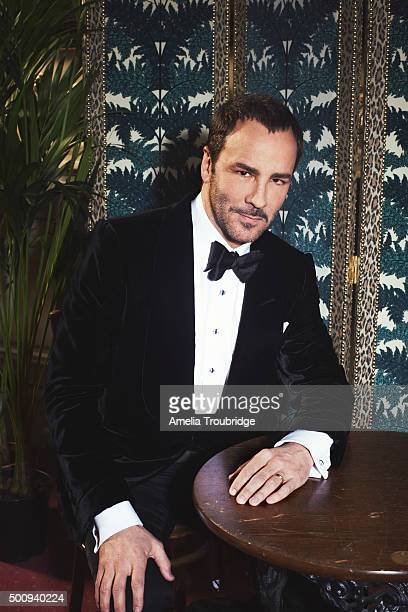 Fashion designer Tom Ford is photographed for ES magazine on September 8 2014 in London England