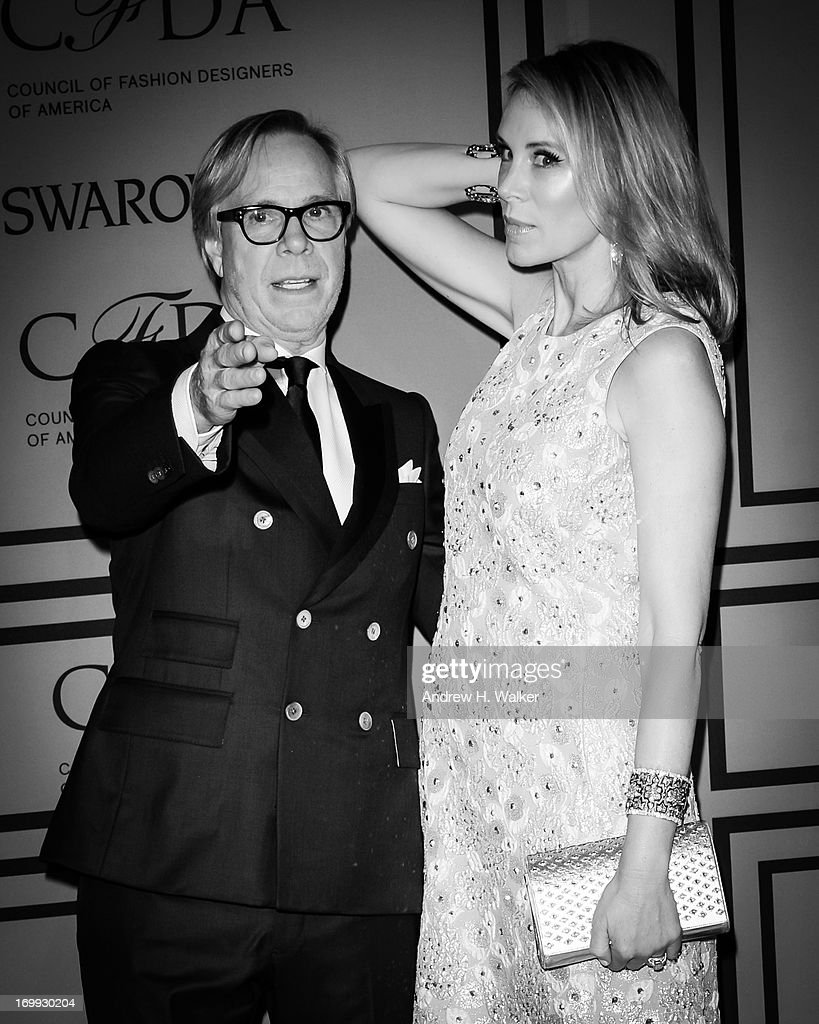 Fashion designer Tommy Hilfiger and Dee Hilfiger attend the 2013 CFDA Fashion Awards on June 3, 2013 in New York City.