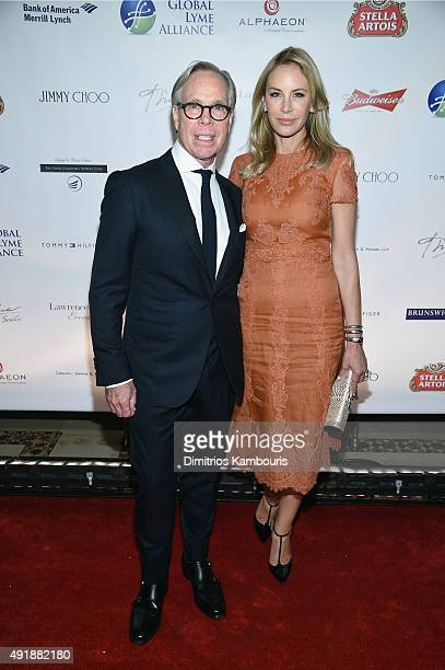 Fashion designer Tommy Hilfiger and Dee Ocleppo attend the Global Lyme Alliance 'Uniting for a LymeFree World' Inaugural Gala at Cipriani 42nd Street...