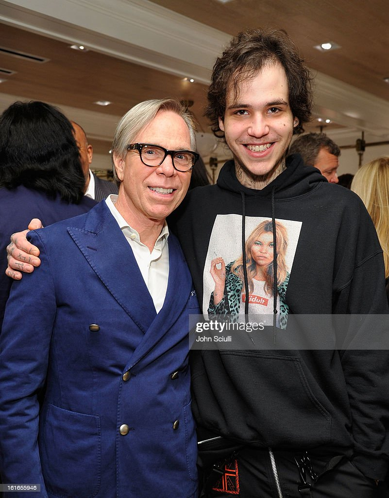 Fashion Designer Tommy Hilfiger and Richard Hilfiger attend Tommy Hilfiger New West Coast Flagship Opening on Robertson Boulevard on February 13, 2013 in West Hollywood, California.