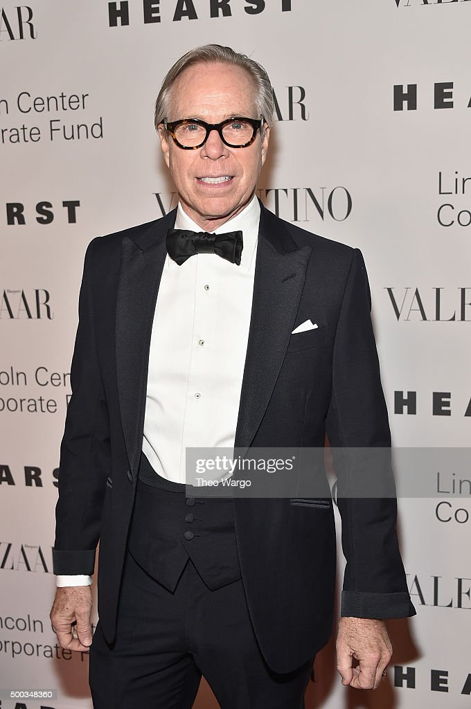 Fashion designer <a gi-track='captionPersonalityLinkClicked' href=/galleries/search?phrase=Tommy+Hilfiger+-+Fashion+Designer&family=editorial&specificpeople=4442212 ng-click='$event.stopPropagation()'>Tommy Hilfiger</a> attends 'An Evening Honoring Valentino' Lincoln Center Corporate Fund Gala at Alice Tully Hall at Lincoln Center on December 7, 2015 in New York City.