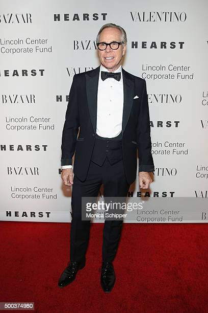 Fashion designer Tommy Hilfiger attends 'An Evening Honoring Valentino' Lincoln Center Corporate Fund Gala Inside Arrivals at Alice Tully Hall at...