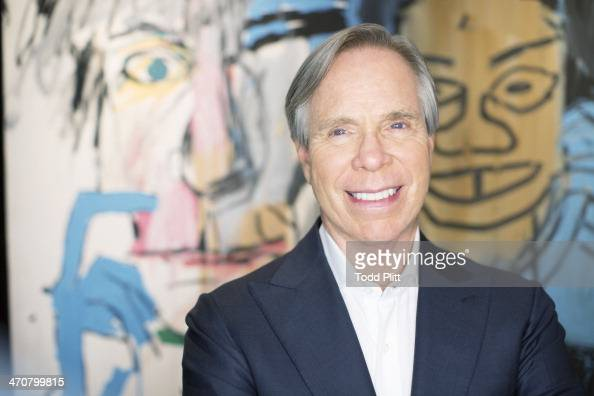 Fashion designer Tommy Hilfiger is photographed for USA Today on February 4 2014 at home in New York City PUBLISHED IMAGE