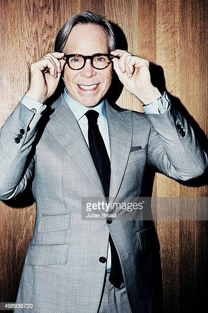 Fashion designer Tommy Hilfiger is photographed for Vogue on June 16 2014 in London England