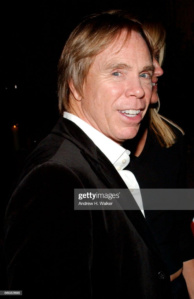 designer for fendi dyns  Fashion designer Tommy Hilfiger smiles for the camer at the Fendi 80th  Anniversary Party Hosted By