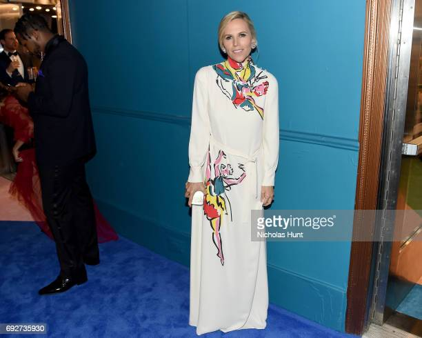 Fashion designer Tory Burch attends the 2017 CFDA Fashion Awards Cocktail Hour at Hammerstein Ballroom on June 5 2017 in New York City