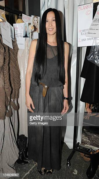 Uma wang designer stock photos and pictures getty images for Fashion design milano