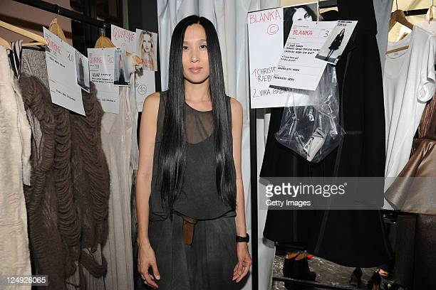 Uma Wang Designer Stock Photos And Pictures Getty Images